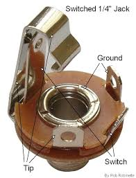 input jacks inserting a plug breaks the contact fender hi channel input jacks have a jumper between the ground
