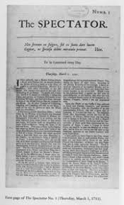 history magazine the spectator debuted to an eager public on 1 1711