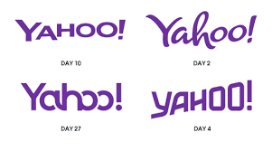 yahoo logo flat. Simple Yahoo You Can See More Of The Designs On Yahoo Blog Intended Yahoo Logo Flat O