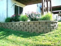 retaining wall retaining wall block