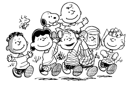Peanuts Coloring Pages Snoopy Color Page Coloring Pages For Kids