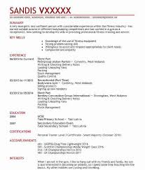 Personal Trainer Resume Interesting 60 Personal Trainers CV Examples Fitness And Recreation CVs