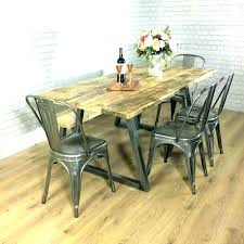 industrial kitchen furniture. Industrial Dining Table And Chairs Style Kitchen Room Set Captivating Furniture