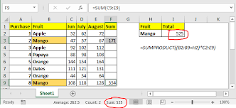 how to sum multiple columns with condition