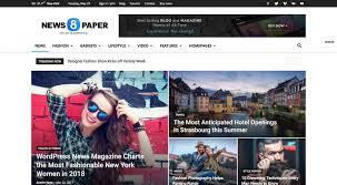 Wordpress Template Newspaper 11 Best Wordpress Themes For Newspapers 2019 Egrappler