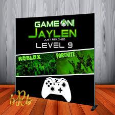 Game On Fornite & Roblox XBox theme ...