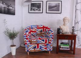 union jack pattern tullsta tub chair cover