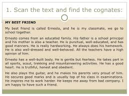a short essay about my best friend best friend essays