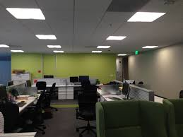 home office green themes decorating. Green Themes Decorating Design For Work Space Office Joshta Home Delightful Square White Light Shade Ceiling