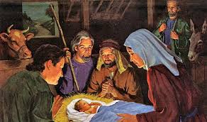 Image result for the shepherds visit baby jesus