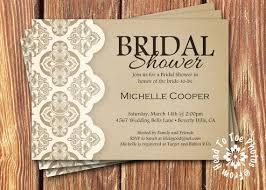 Free Bridal Shower Invitations Templates Extraordinary Rustic Bridal Elegant Free Rustic Bridal Shower Invitation Templates