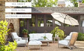 replacing outdoor cushions