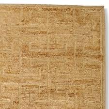 greek key wool jute rug swatch textured
