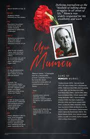 Hiçbir baskıdan yılmayan namuslu bir yazardı. Turkey Remembers Assassinated Journo Ugur Mumcu