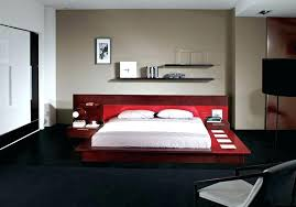 modern platform beds with lights. Exellent Beds Modern Platform Bed With Lights Size Of  Floating Nightstands Style And Concept Gamma  Beds A