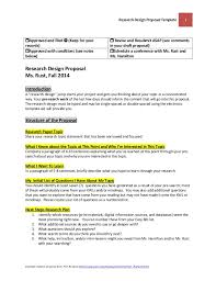 Research Project Proposal Template - April.onthemarch.co