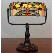inspiring home lighting decoration with tiffany desk lamps image of colorful dragon fly stained