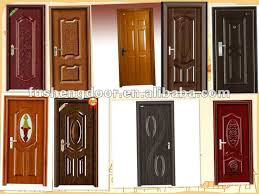 Single Door Design Main Spain Steel Bedroom Door Skin Designs China