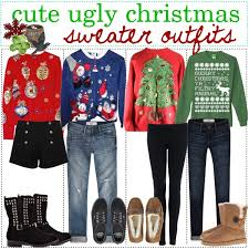 ugly christmas sweater ideas - Polyvore
