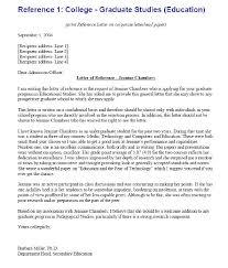 re mendation letter for college template kads1hsk