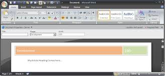 Header Template Word How To Use Sharepoint List Data Inside Document Header Footer