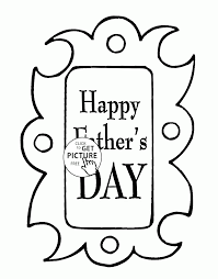 Small Picture Happy Fathers Day coloring page for kids holidays coloring pages