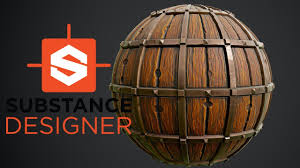 Stylized Substance Designer Substance Designer Stylized Wood With Metal Trims