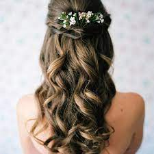 to wear your hair down for your wedding