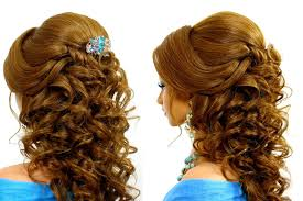 Wedding Hair Style Picture romantic wedding hairstyle for long hair tutorial youtube 5802 by wearticles.com
