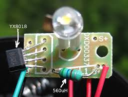 garden light updated detect and zero rightmost one i reverse engineered the circuit