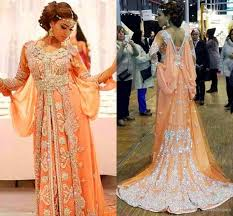 2015 Evening Gowns Abaya Dubai Moroccan Kaftans Beaded Long
