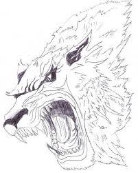 Vlkodlak Tetování Se Smyslem