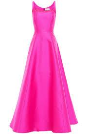 Neon Designer Dress Neon Faille Gown