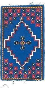 blue trellis area rug