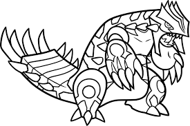 Redoubtable Pokemon Groudon Coloring Pages Best Coloring Ideas