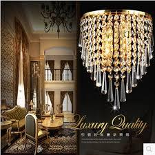 modern crystal chandelier wall light lighting fixture ac110v ac220v ac85 265v e14 led wall lamps for home lighting by outdoor light dhgate