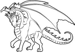 Printable Dragon Coloring Pages Free Printable Dragon Coloring Pages