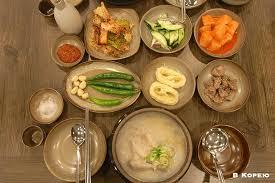 Национальная корейская кухня В Корею Корейская кухня