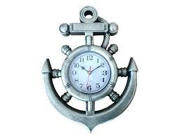 anchor wall clock silver ship wheel and anchor wall clock anchor wall clock philippines