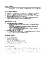 the real estate agent resume examples amp tips resume sample realtor resume example