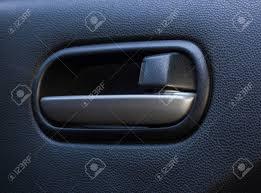 inside car door handle. Door Handle Inside The Car. Stock Photo - 50191210 Car