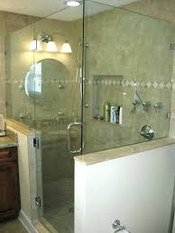 remove hard water stains from glass how to remove shower doors medium size of glass how