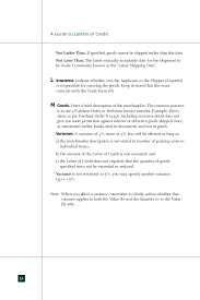 Import Export Guide Letter Of Credit Ideas Of Cover Letter For