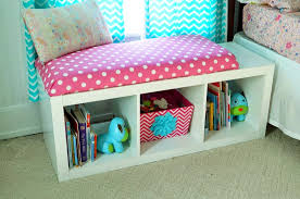 Image Window Bench Bookcase1 Old House To New Home Diy Window Seat Bookcase With No Sew Bench Cushion