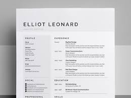 Don't know why but these clean resumes with super simple color subtleties  are really