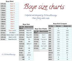 Boye Brand Made In Usa Aluminum Crochet Hook 6 Inch Single Hook Sizes D Through N Diana Wrights
