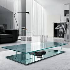 Contemporary Glass Top Coffee Tables Furniture Contemporary Glass Coffee Tables Adding More Style Into