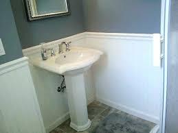 singular modern pedestal sink plumbing small modern pedestal lavatory sink 8 modern pedestal sink vanity