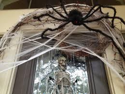 ... Web SPider Decoration For Halloween Door ...