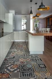 Kitchen Floor Tile Patterns Cool 48 Beautiful Examples Of Kitchen Floor Tile